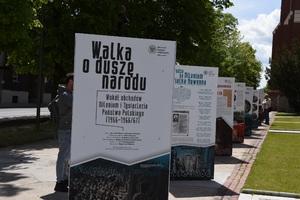 """Otwarcie wystawy """"Walka oduszę narodu..."""" Fot.M. Kobylańska"""